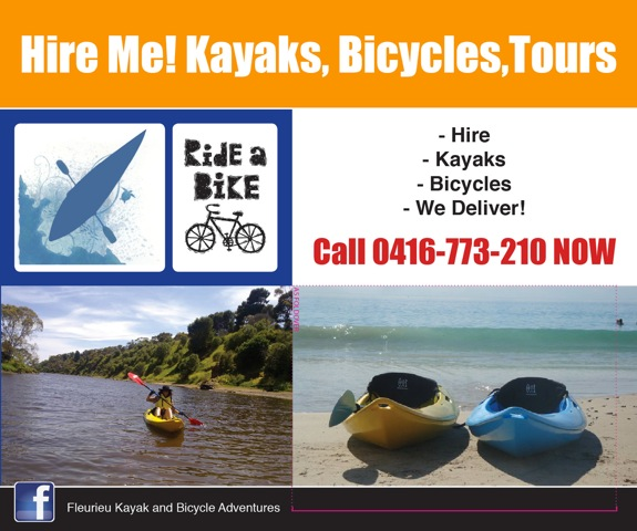 Hire Me! Kayaks Bicycles Tours